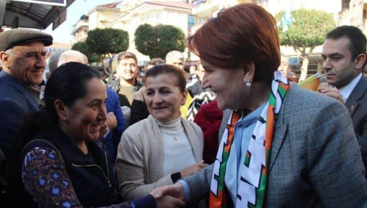 Meral Akşener esnaf ziyaretinde vatandaşa ilginç bir soru yöneltti