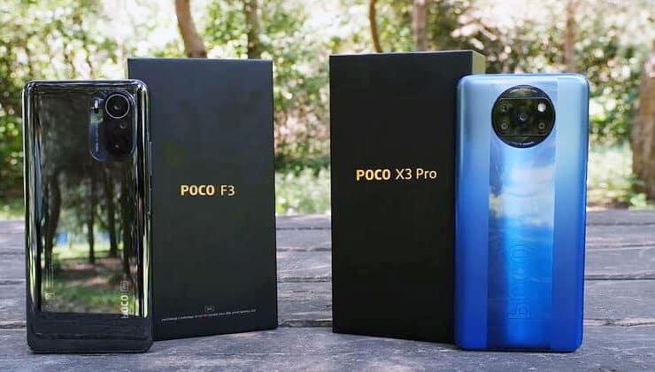 poco f3 telefon
