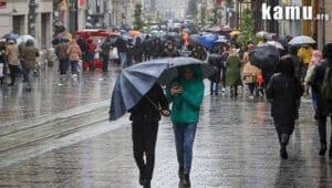 kuvvetli yağış gelecek yerler!