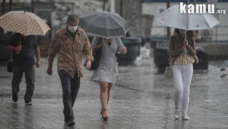 Meteoroloji Sağanak Yağış Uyarısı Yaptı! 2 Eylül Perşembe Günü Sağanak Yağış Geliyor!