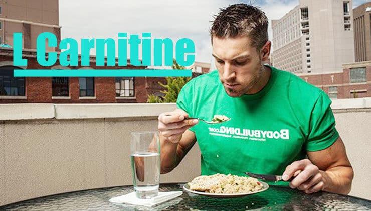 l-carnitine yemekle alım